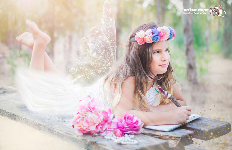 צילום פיות ילדות תקווה מהבד