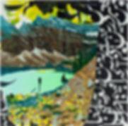 "LAKE AGNES, 2017, 24"" x 24"""