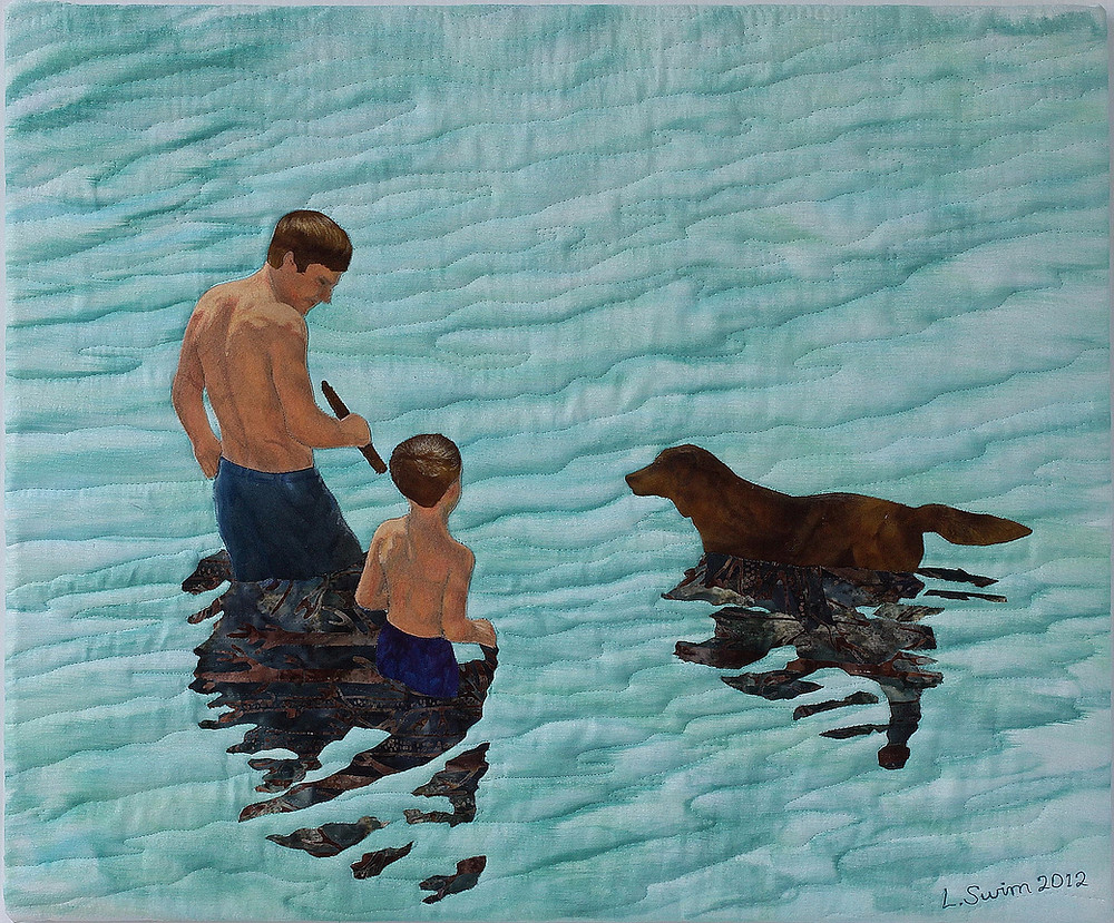 """In the Moment 19"""" x 23"""", Laurie Swim 2012"""