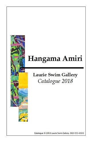Hangama Amiri - Laurie Swim Gallery 2018
