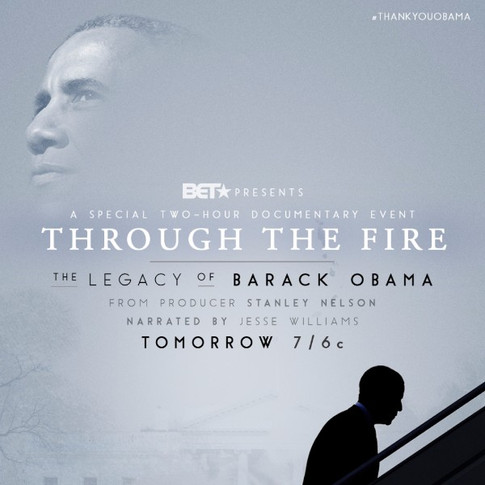 Through The Fire: The Legacy of Barack Obama  Firelight Media & BET  Directed by Stanley Nelson  Color by Rick Broat  Finishing by Gary Belcher