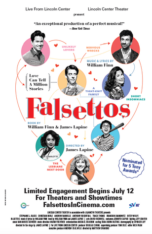 Falsettos  Live From Lincoln Center  Directed by Matthew Diamond  Color & Finishing by Rick Broat