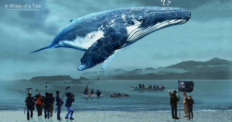A Whale of A Tale  Busan Film Festival  Fine Line Media  Directed by Megumi Sasaki  Color & Finishing by Rick Broat