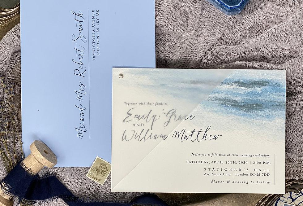 Victoria Avenue Wedding Invitation