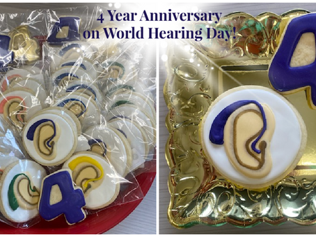 Four Year Anniversary on World Hearing Day