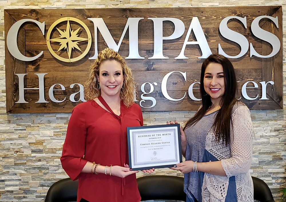 Compass Hearing Center Business of the Month