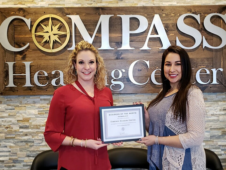 Compass Hearing Center Celebrates Business of the Month
