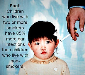 Secondhand Smoke Might Triple Childs >> Secondhand Smoke Increases Ear Infection Risk In Children Texas