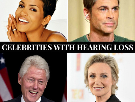 Celebrities with Hearing Loss
