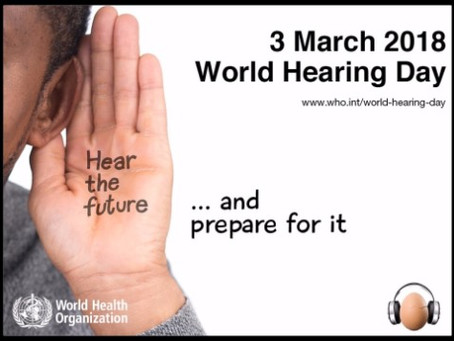 Celebrating World Hearing Day