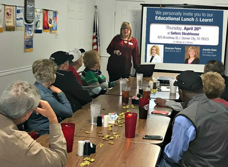 Hearing Loss Lunch & Learn Spring 2018