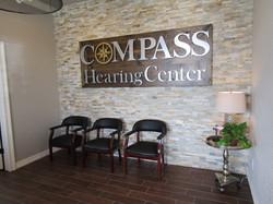 compass hearing center lobby