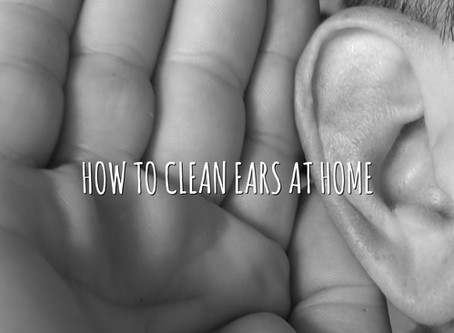 How to Clean Ears at Home