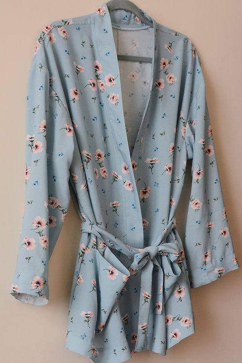 Kimono Viscose fleurie