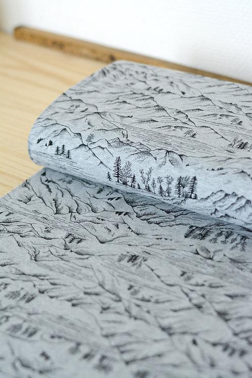 Jersey Mountains_Gris clair X10cm