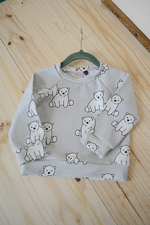 Sweat oursons gris