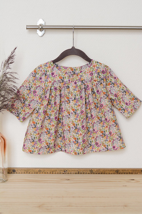 Blouse babydoll Automne 2-6ans