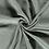 Thumbnail: Double gaze de coton brodée_Eucalyptus X10cm