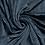 Thumbnail: Jersey velours côtelé_Pétrole satiné X10cm