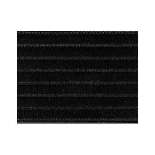 Ceinture élastique noire X10cm