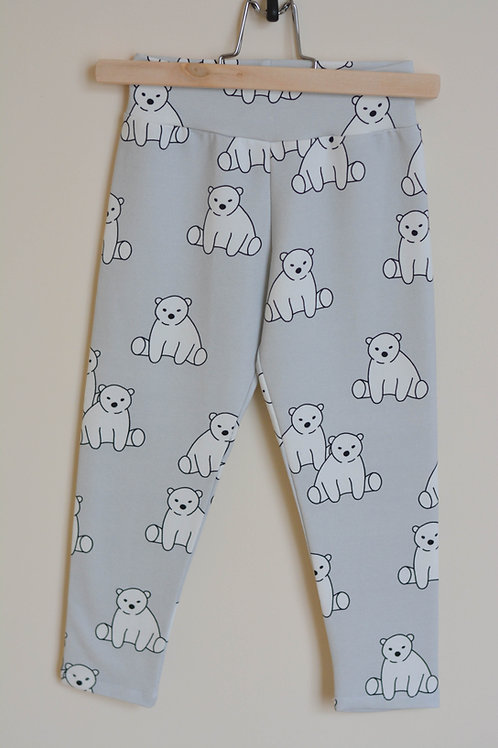 Legging oursons gris