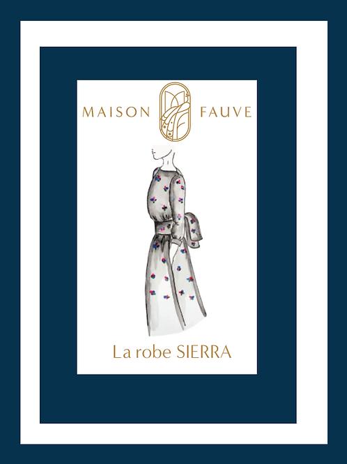 Patron Maison Fauve_Robe, blouse SIERRA