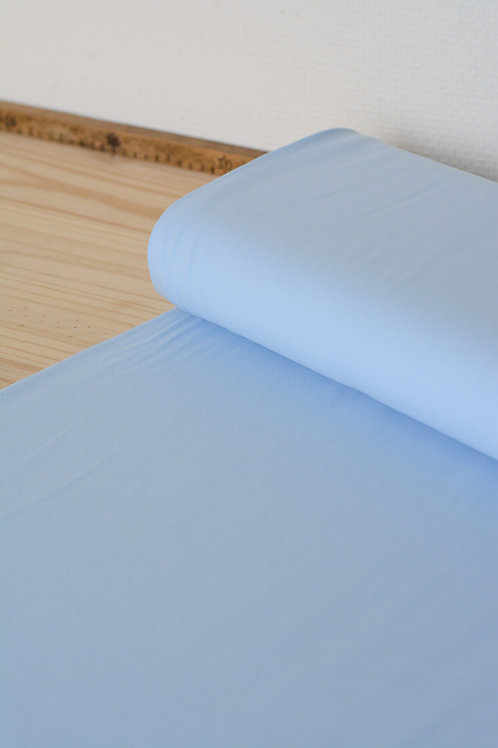 Jersey uni Baby Blue X10cm