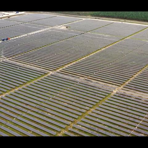 Hamilton Solar Power Plant in Jasper, Florida