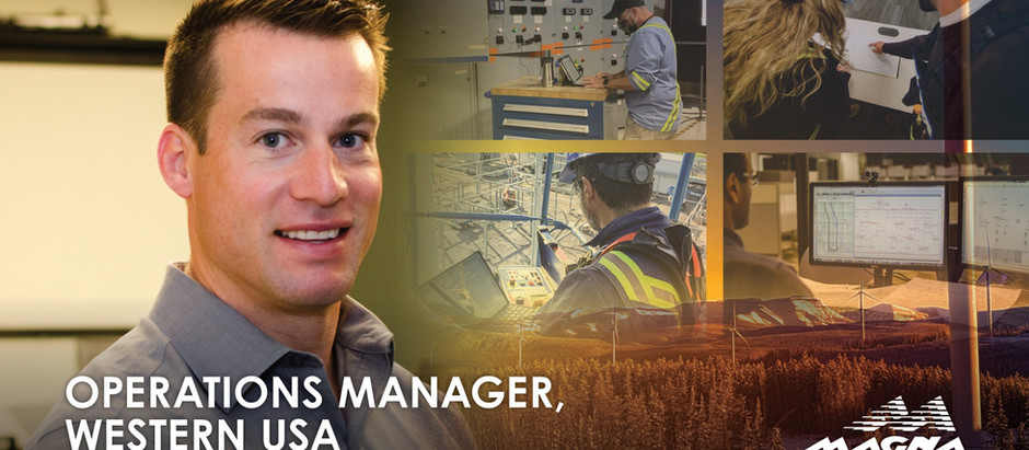 Operations Manager, Western USA