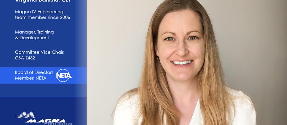 Virginia Balitski Joins NETA's Board of Directors