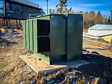 Medium Voltage Transformer Upgraded Replacement