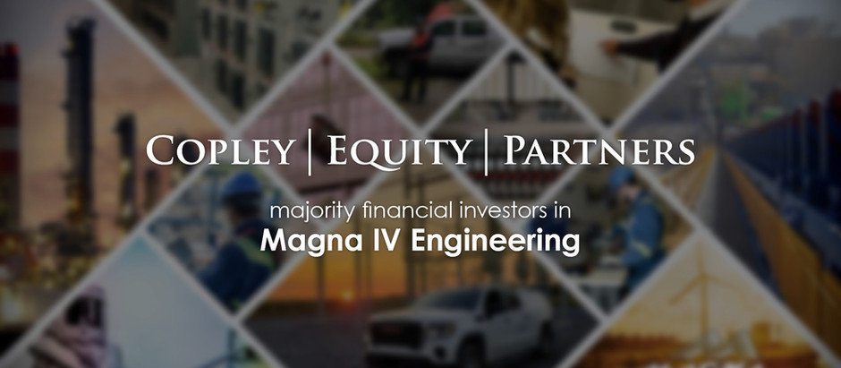 Magna IV Engineering Announces Investment from Copley Equity Partners