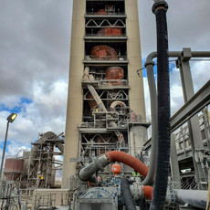 Tehachapi Cement Plant Kiln
