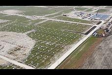 550-Acre Solar Power Plant Grounding Study