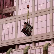 Transformer Lifting at Canada Place