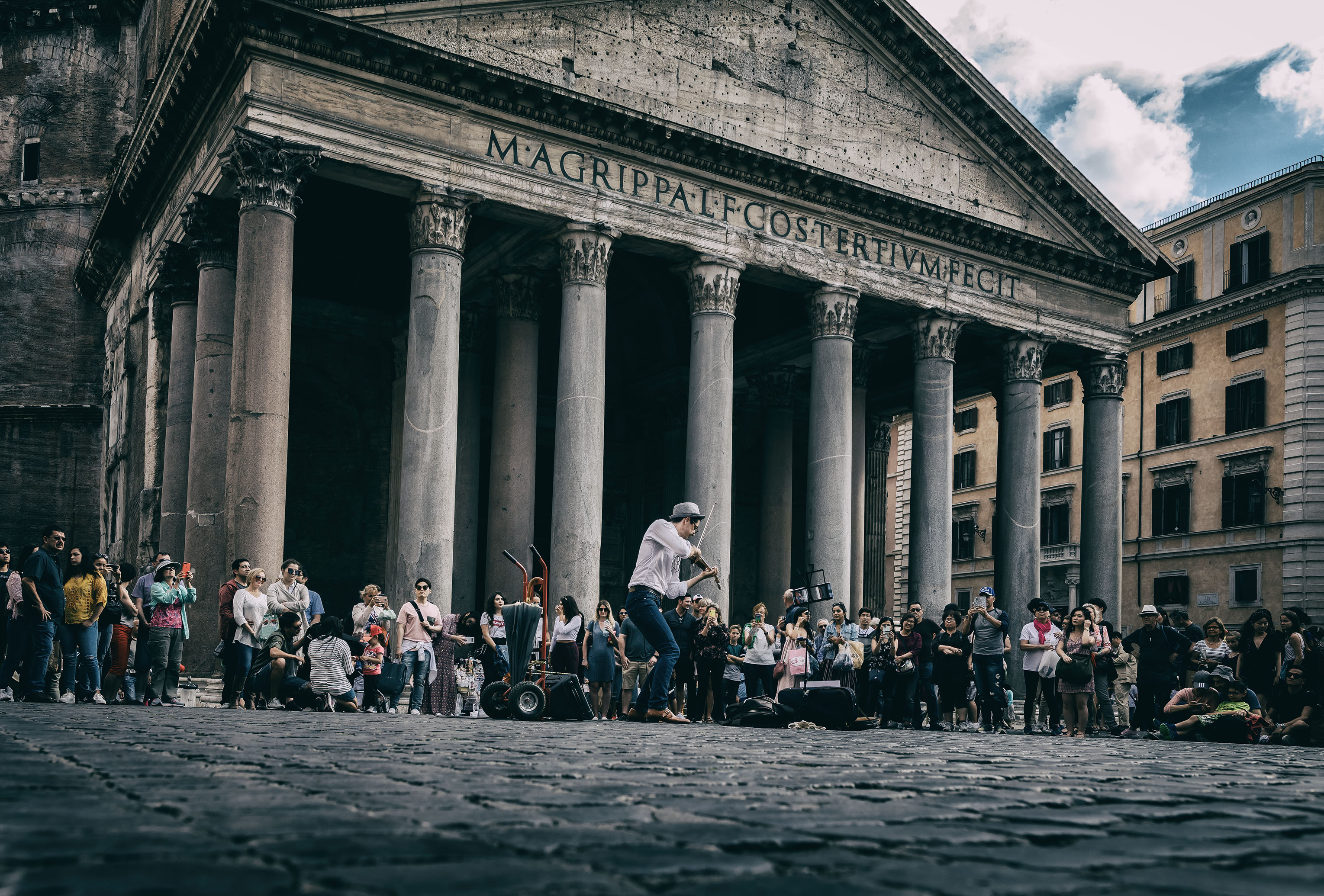 Playing the Pantheon A