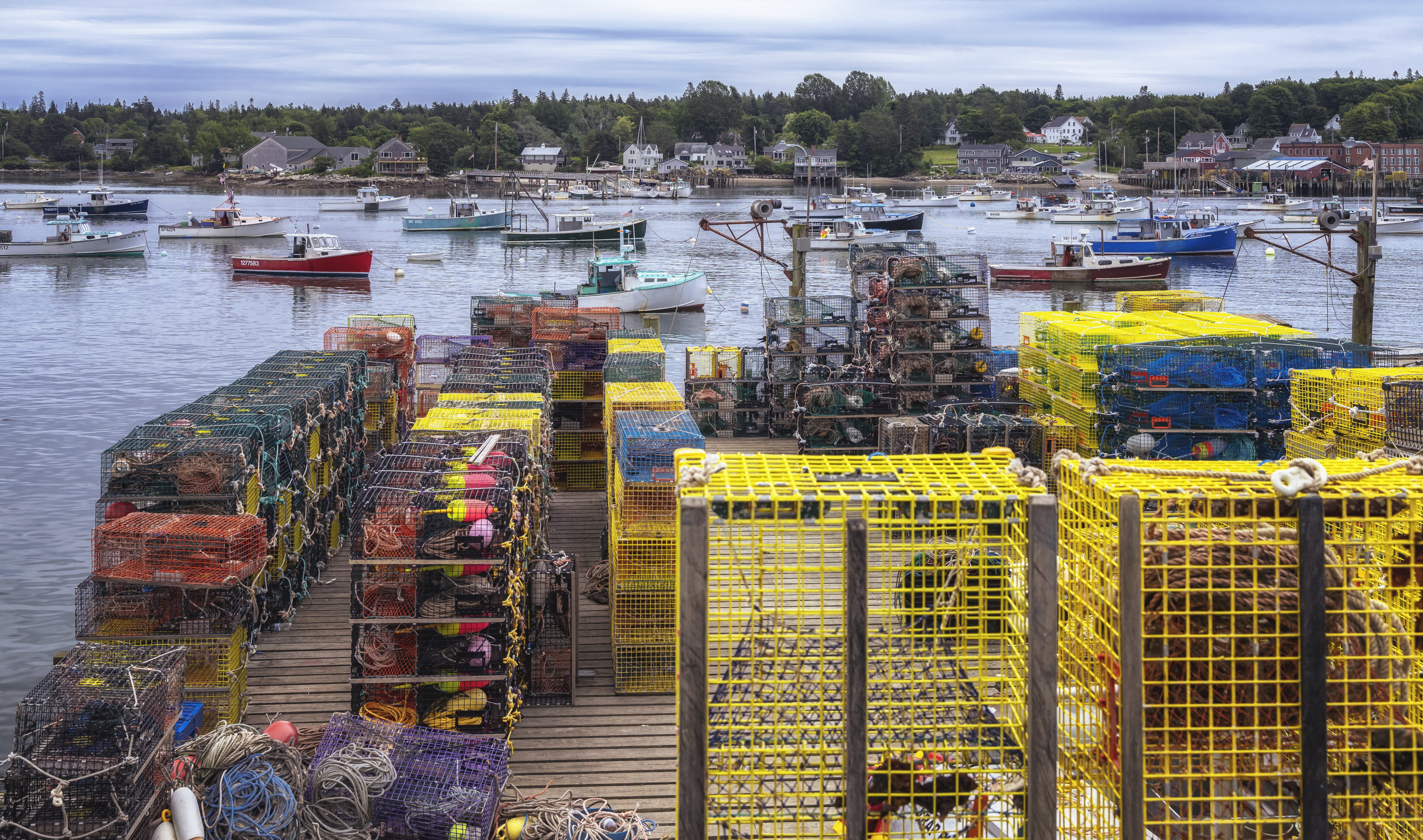 A New England Fishing Village
