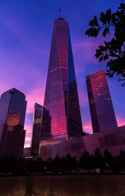 WTC Sunset