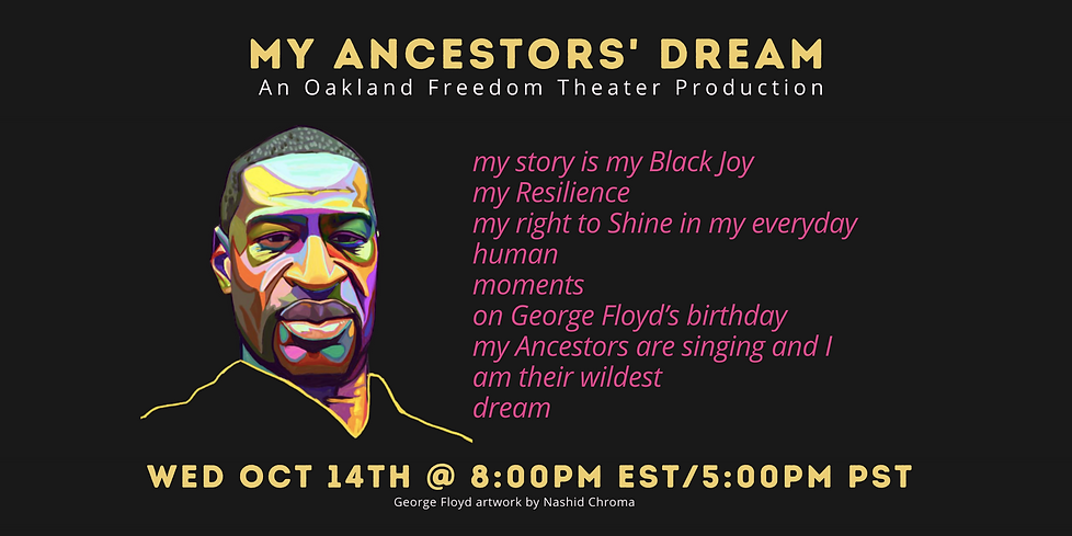 Ancestors Dream Playback for Eventbrite.