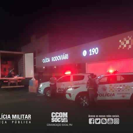 PMESP PRENDE CRIMINOSO POR CONTRABANDO DE CIGARROS