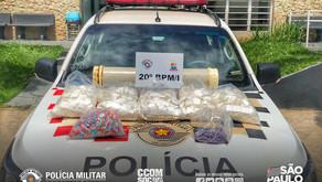 DOIS INDIVÍDUOS SÃO PRESOS COM MAIS DE 4KG DE DROGAS EM CARAGUATATUBA/SP