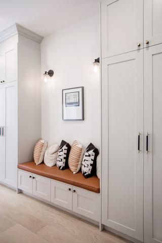 Built in Seating & Storage in kitchen AC