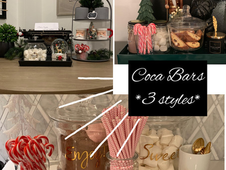 Cocoa Bars- 3 Ways!