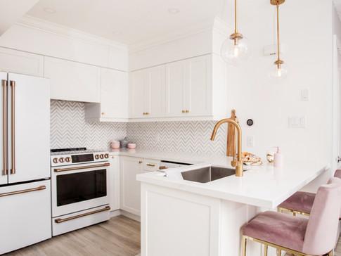 GE Cafe Appliances AC Interiors Kitchen