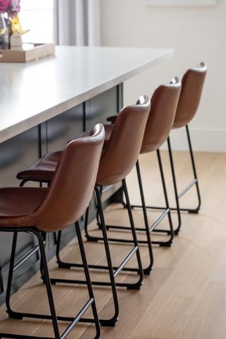 AC Interiors Design Large Island Leather
