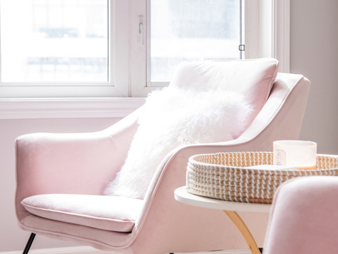 Pink Living Room Chairs AC