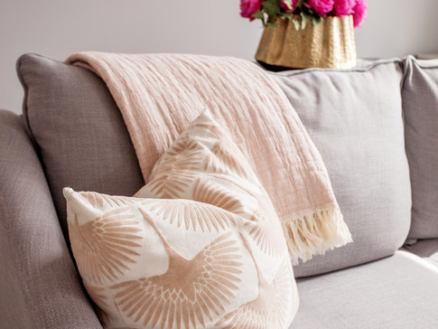Custom Pillows Textile AC Interiors Desi