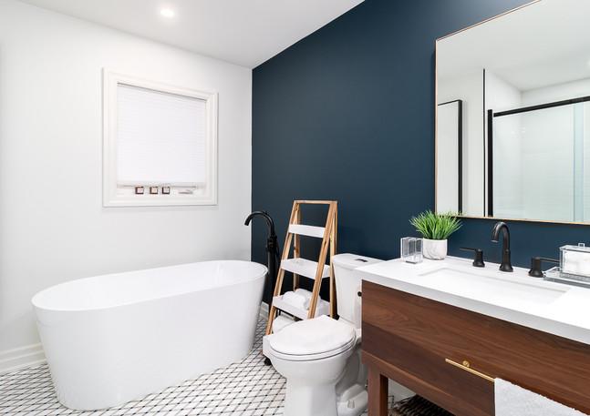 master bathroom custom vanity