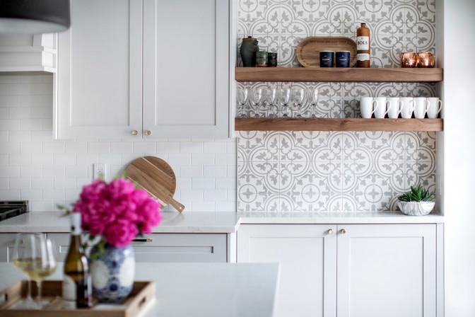 AC Interiors Design Grey Luxury Kitchen