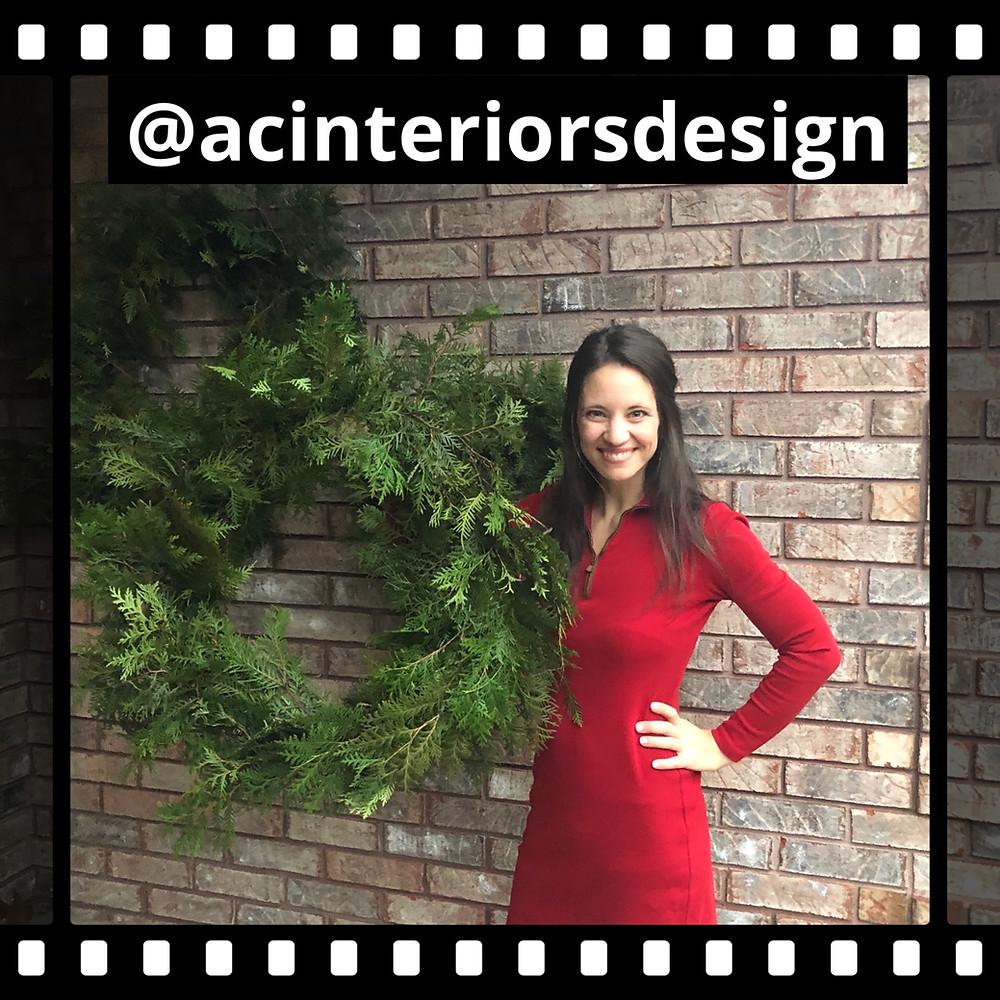 Christmas Wreath Series: #2 - AC Interiors Design